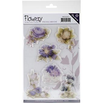 Find It Trading Precious Marieke Clear Stamp-Flowery