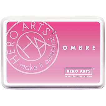 Hero Arts Ombre Ink Pad-Pink To Red
