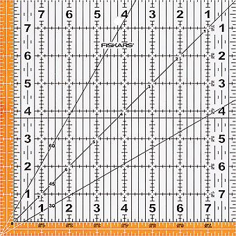 Fiskars Quilting Ruler-8-1/2