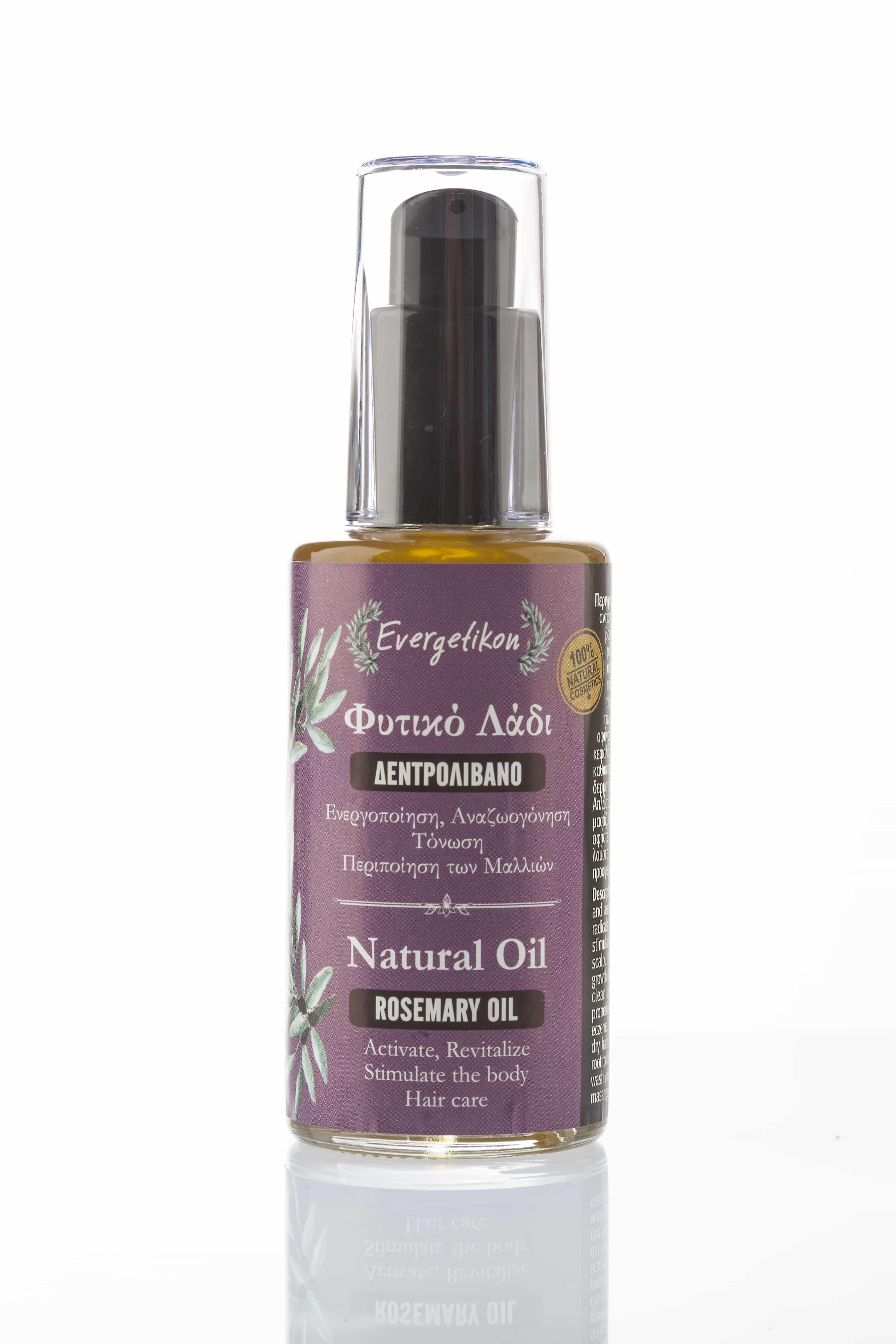 Natural Rosemary oil 60ml.  Activate, revitalize, Stimulate the body, Haircare.