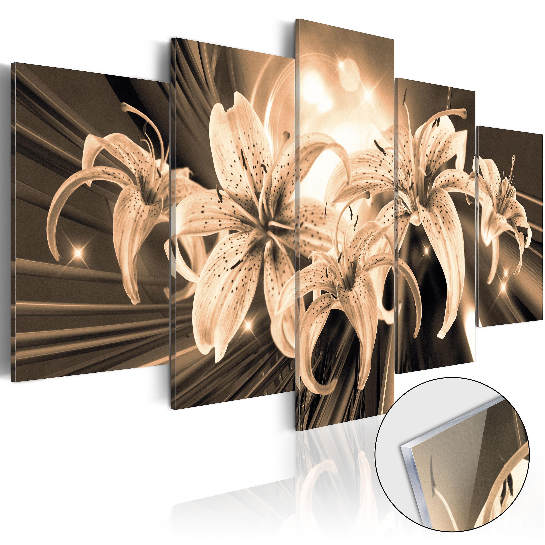 Tableau sur verre acrylique - Bouquet of Memories [Glass]
