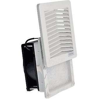 Ventilador de caja FF12A230UN Fandis 230 V AC 18 W (W x H x D) 150 x 150 x 65,5 mm