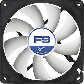 Arctic F9 PC fan Black, White (W x H x D) 92 x 92 x 25 mm