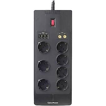 APC SB0701AD-DE-B bølge beskyttelse socket stripe svart PG-kontakt