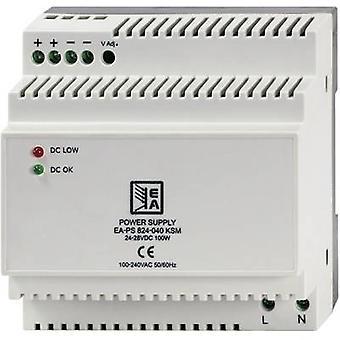 EA Elektro Automatik EA-PS 824-040 KSM Rail mounted PSU (DIN) 4.2 100 W 1 x