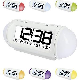 Techno Line WT 499 Radio Alarm clock White Alarm times 2