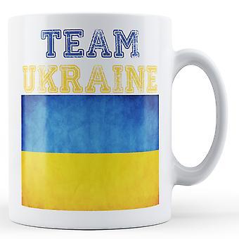 Ukraine - bedruckte Becher-Team