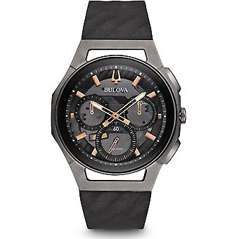 Bulova mens watch Curv chronograph 98A162