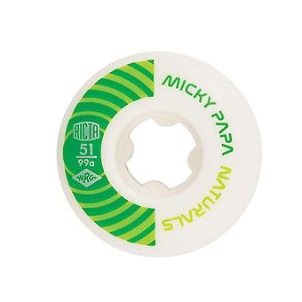 Ricta White Naturals Papa 99A - 51mm Skateboard Wheels