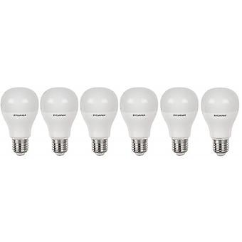 6 x Sylvania ToLEDo A60 E27 V4 9W Homelight LED 810lm [Energy Class A+]