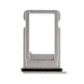 Silver simkortshållaren med vattentät packning för iPhone 8 Plus