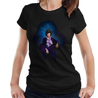 TV volte Joan Collins a casa Stars t-shirt 1971 donna