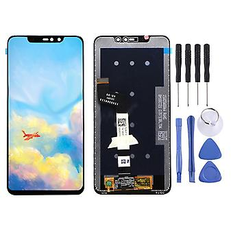 For Xiaomi Redmi grade 6 Pro display full LCD unit touch spare parts repair black new