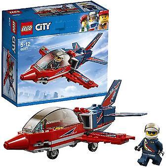 Lego 60177 City Stuntvliegt.