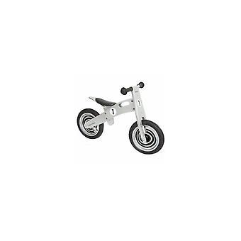 Einfach Holz Laufrad für Kinder Silber