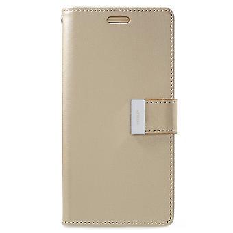 Mercury GOOSPERY Rich Diary to Samsung Galaxy S9 Gold