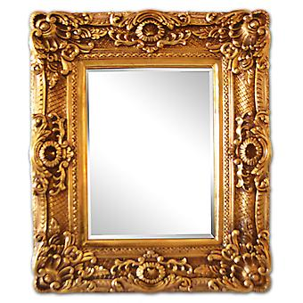 30 x 40 cm or 12 x 16 inch, classic frame in gold