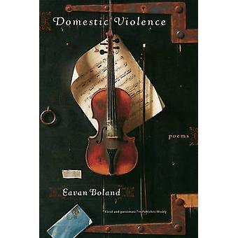 Violência doméstica - poemas de Eavan Boland - livro 9780393333084