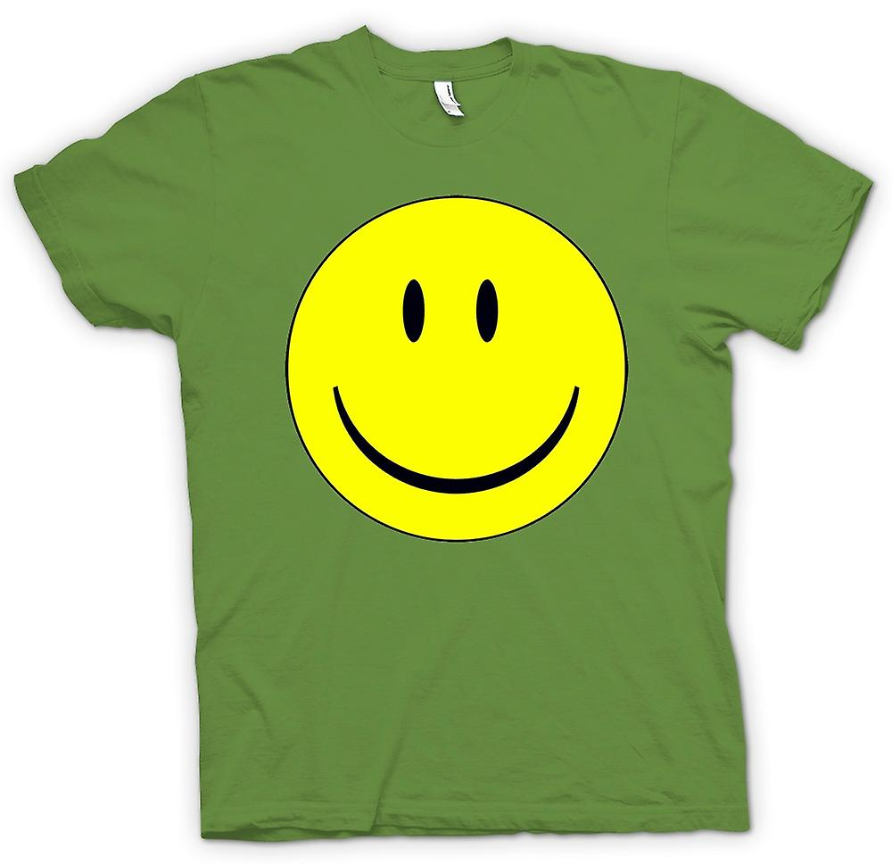 Mens T-shirt - miley Face - Acid House