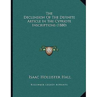 The Declension of the Definite Article in the Cypriote Inscriptions (1880)