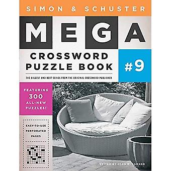 Simon & Schuster Mega Crossword Puzzle livre 9