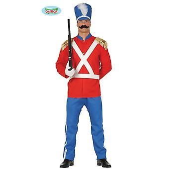 Tin soldier costume men's soldier soldier uniform guard