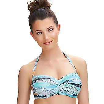 Fantasie Kiruna Fs6335 W bygel Bandeau Twist Bikini Top (Mui)
