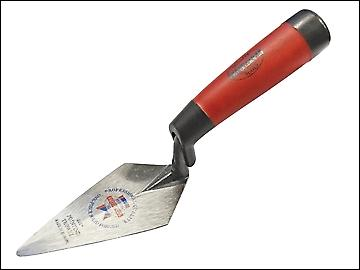 Faithfull Pointing Trowel Forged London Pattern Soft Grip Handle 4.1/2in