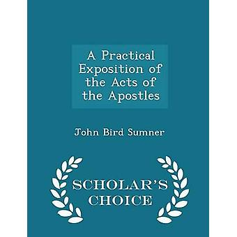 A Practical Exposition of the Acts of the Apostles  Scholars Choice Edition by Sumner & John Bird