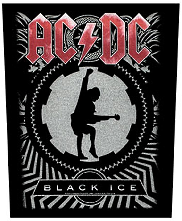 AC/DC Black Ice large sew-on back patch  (mm)
