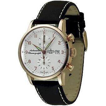 Zeno-watch montre Magellano chronographe Bicompax 18 ct or 6069BVD-GG-f2