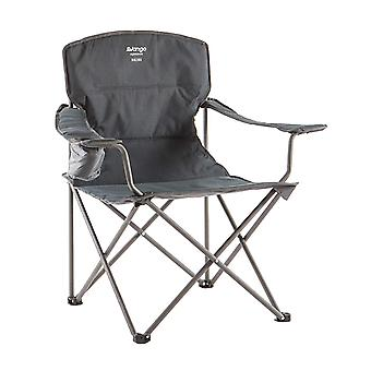Vango Malibu Soft Arm Steel Camping Chair Granite Grey