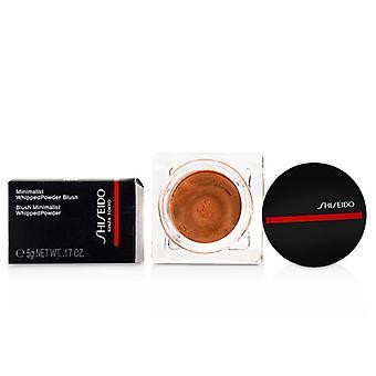 Shiseido Minimalist Whippedpowder Blush - # 03 Momoko (peach) - 5g/0.17oz