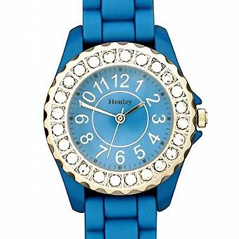 Henley Glamour Bling Aqua Sports de Ladies Watch H0826.6
