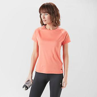 New Asics Women's Icon Short Sleeve Shirt Coral