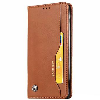 Wallet Case iPhone Xs Max, 4 slots, built-in magnetic clasp