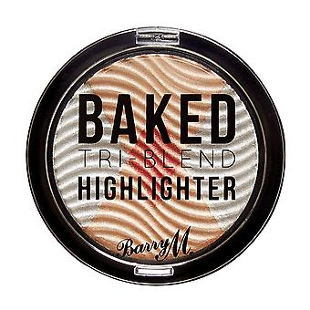 Barry M Baked Tri-Blend Highlighters - Silver Solstice