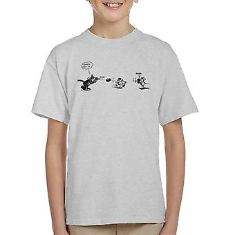 Krazy Kat mursten kaste foto Kid's T-shirt