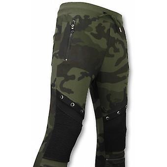 Camouflage Pants-Casual Jogging pants-Camouflage Biker-Khaki