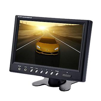 9 inch tft lcd monitor -  800x480, ntsc/pal, headrest mount frame, two way video input, 7w