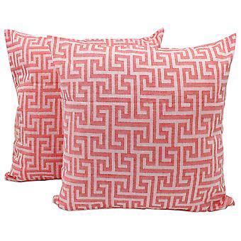 Turku Pillow covers Turku 40x40cm coral (Decoration , Cushions)