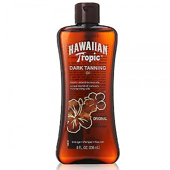 Hawaiian tropic dark tanning oil, original, 8 oz