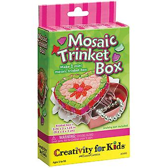 Creativity For Kids Activity Kits Mosaic Trinket Box 1491Ck