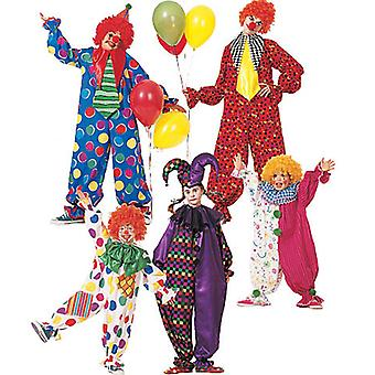 Children's Boys' Girls' Misses' Men's Teen Boys' Clown Costu  050 5  6 Pattern M6142  050