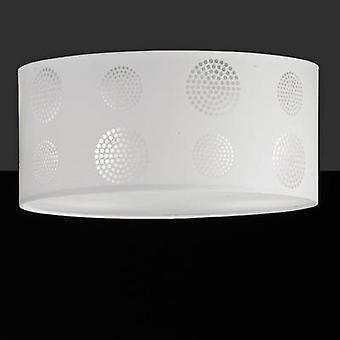 Ceiling light LED, HV halogen E27 92 W Honsel Joona 29462 White
