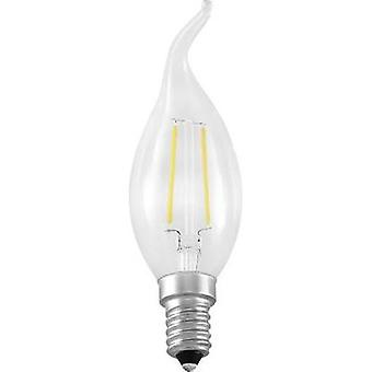 LED (monochrome) Segula 230 V E14 2 W = 25 W Warm white EEC: A++ Candle angular (Ø x L) 35 mm x 120 mm Filament 1 pc(s)