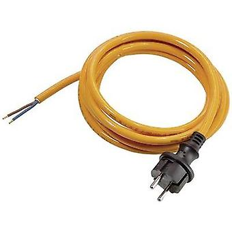 Current Cable [ PG plug - Cable, open-ended] Orange 5 m as - Schwabe 70917