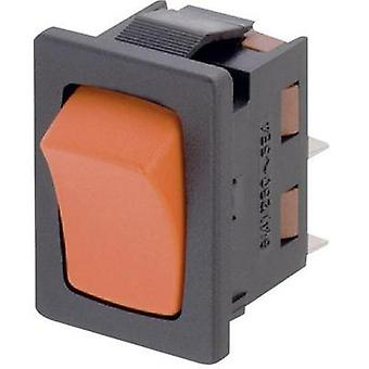 Toggle switch 250 Vac 6 A 1 x Off/(On) Marquardt 1