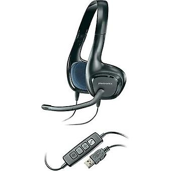 PC headset USB Corded, Stereo Plantronics Audio 628