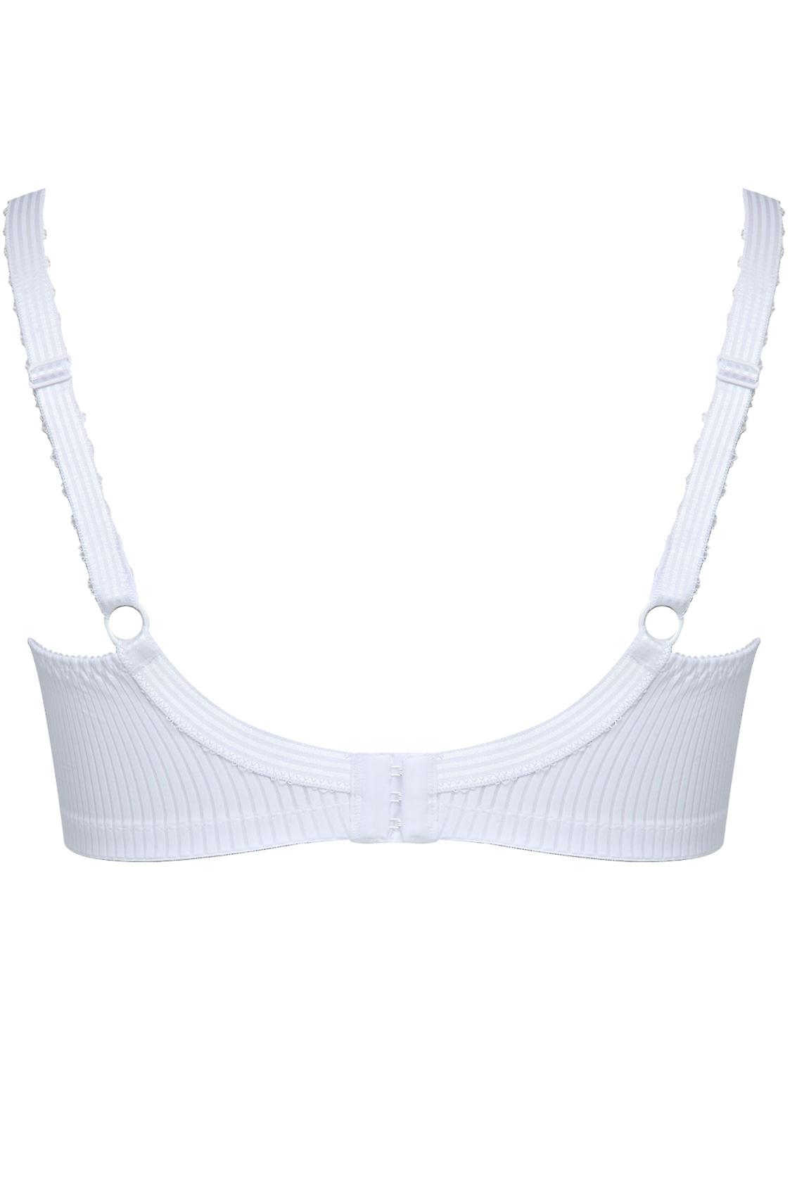 BESTFORM White Modern Comfort Non-Wired Bra